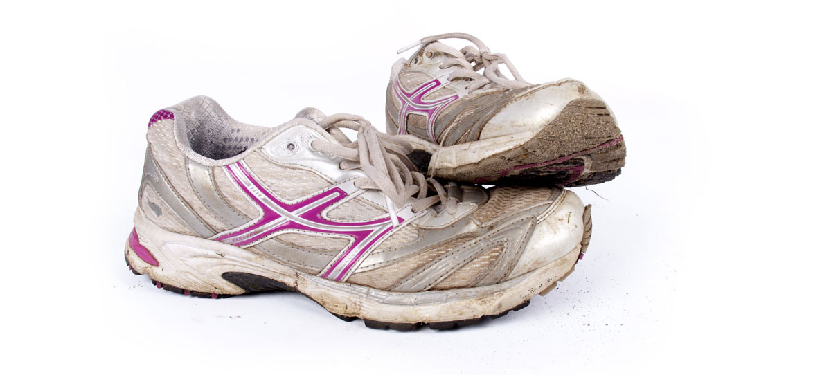 scarpe running da sostituire
